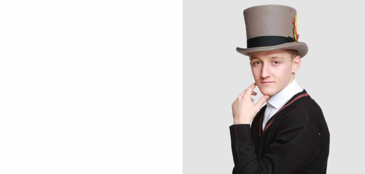 Men top hat