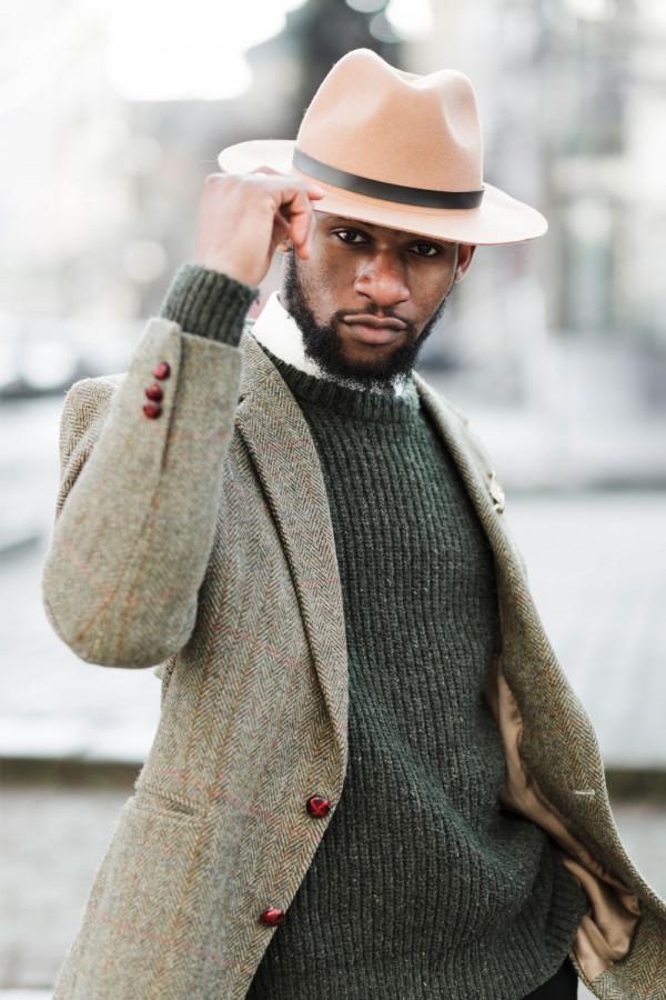 men fedora hat