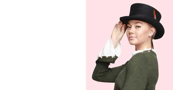 women top hat