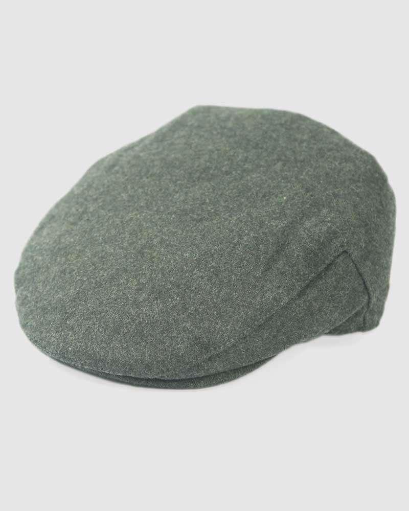 Classic Wool Flat Cap- Grey