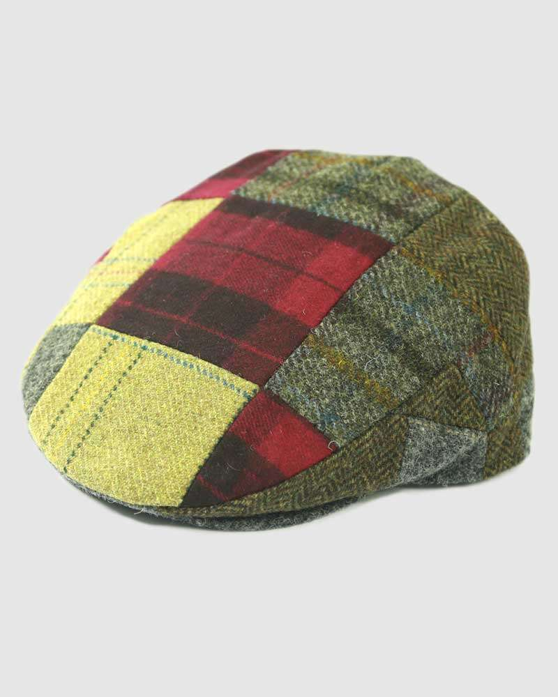 Wool Flat Cap Tweed – Multi-Coloured